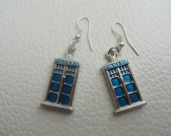 TARDIS Earring Set