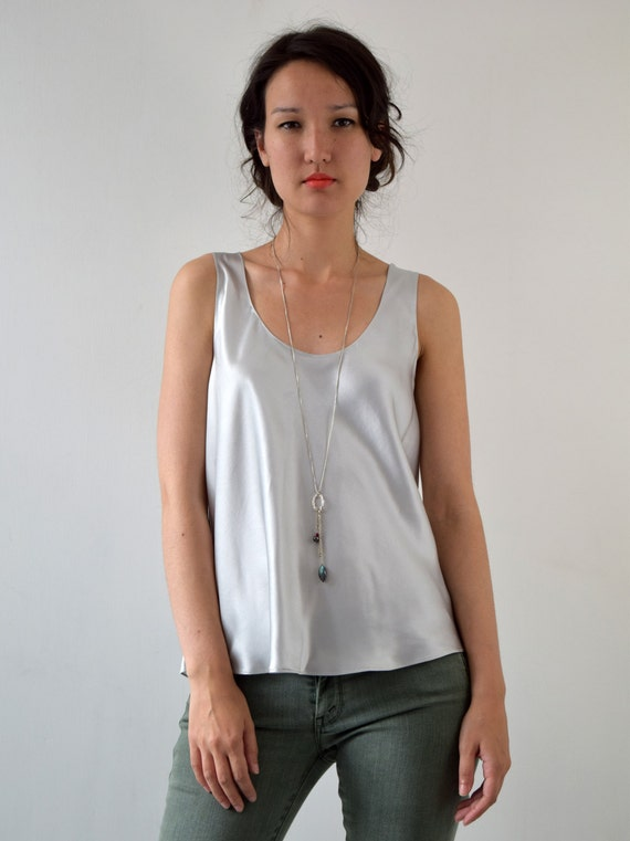 Buy low price, high quality silver silk top with worldwide shipping on specialtysports.ga