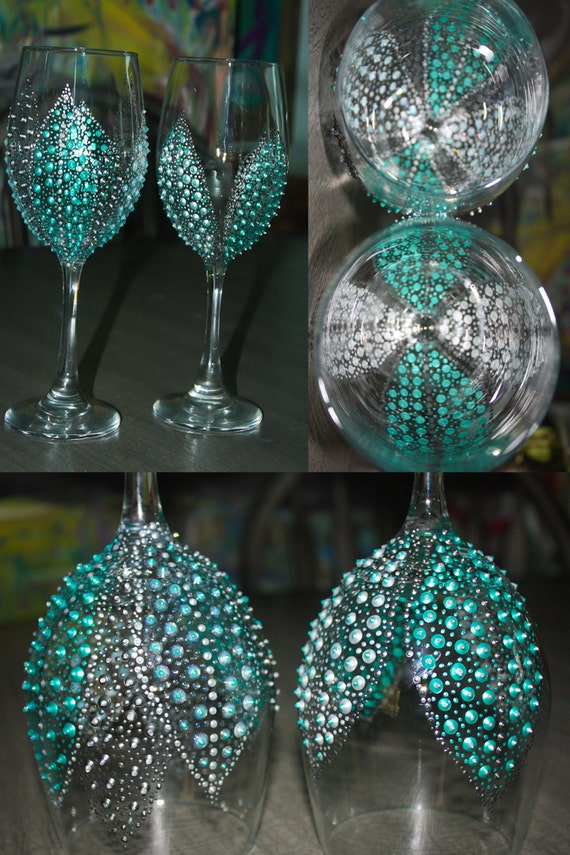 Wine Glasses Breakfast At Tiffany 39 S Themed Bridal Party Glasses