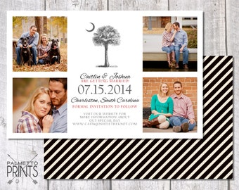 Palmetto Moon Save the Date Multiple Photo Card