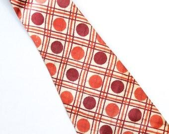 Vintage 1950s Silk Men's Neck Tie