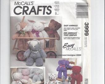 Stuffed Menswear Bunny   Step-by-Step   DIY Craft How To