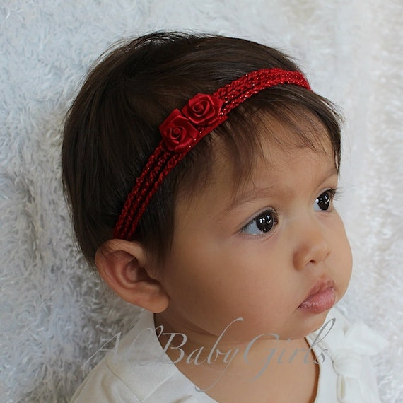 crochet baby headband with lace bow and by allbabygirls crochet baby headband with lace bow and by allbabygirls