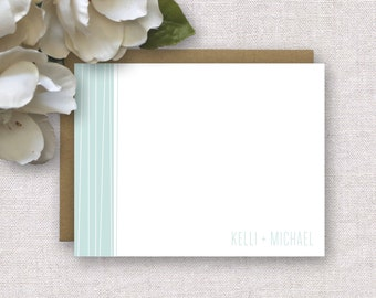 Personalized Stationery. Personalized Couples / Family Stationery. Stationary / Note Cards / Notecards. Modern. Thank You Notes. Wedding.