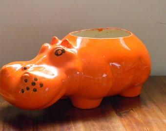 Popular Items For Orange Hippo On Etsy