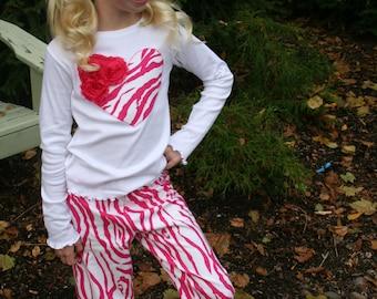 Zebra pajamas | Etsy