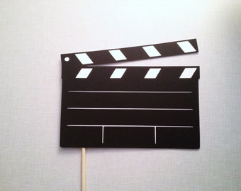Movie Clap Board Photo Booth Prop