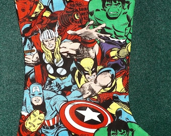 Marvel Avengers  Christmas Stocking