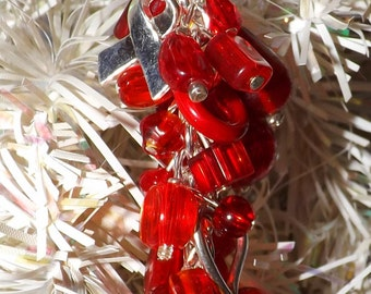 Heart Health Awareness Ornament