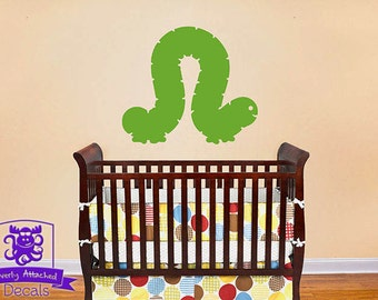 Inch Worm Wall Decal