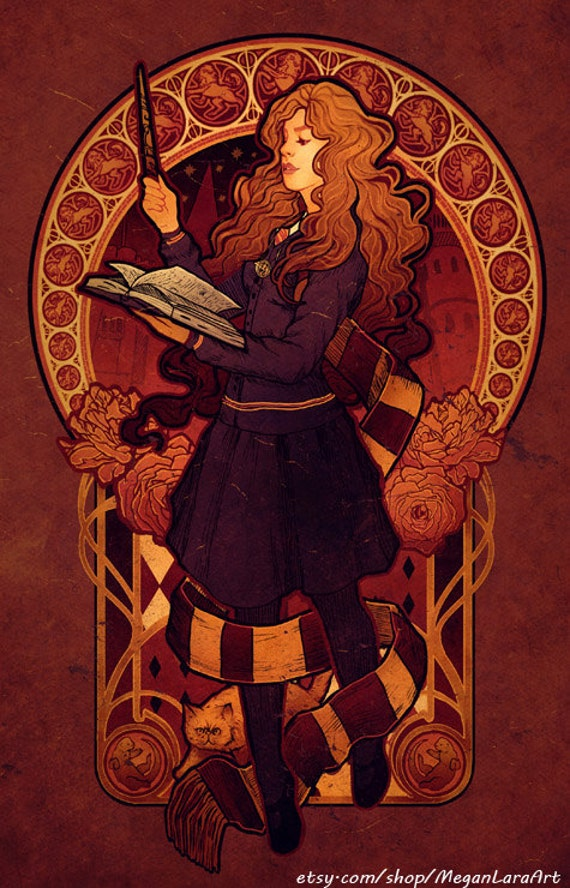 The Brightest Witch of Her Age - Oversized Postcard - 5.5 x 8.5 inch