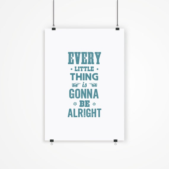 6 Things Every Perfectly Decorated Home Should Have: Printable Art Motivational Print Wall Decor By