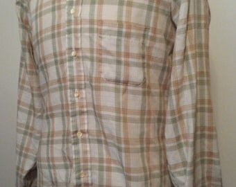 Vintage button down long sleeve shirt by Arrow from Cluett