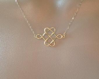 Set of 8 Celtic Knot Necklaces