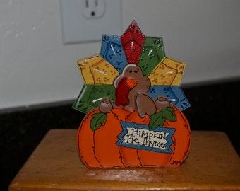 Thanksgiving Harvest Turkey with Pumpkin