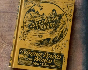 Antique Jules Verne Novel - Amazing Collectible Book