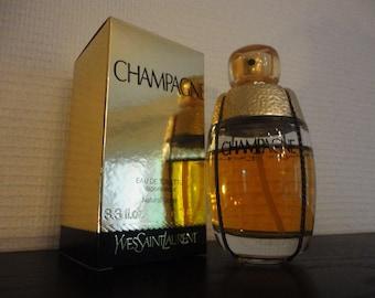 Champagne perfume Yves St Laurent Paris Eau de Toilette Spray 100ml