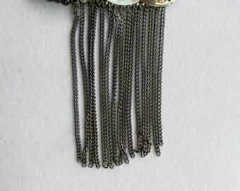Steampunk Necklace Goth Vintage Pocket Watch Parts necklace steampunk jewelry victorian steampunk industrial urban jewelry