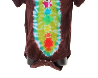 Tie Dye Baby 24 month Creeper