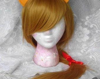 Applejack Wig, Blond, Blonde, Pony, MLP, Costume, cosplay, Costume Long My Little Pony, MLP, Apple Jack