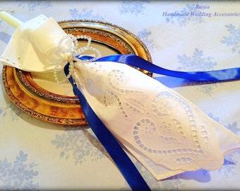 Wedding Candles/ Lambathes/Lambades/Orthodox Ceremony Candles.Decorated Candles.Stefana.Wedding Crowns.