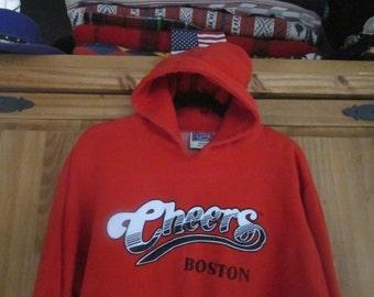 Cheers Boston Hoodie Red Cheers TV Show