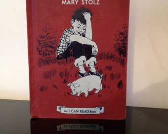 Vintage Emmett's PIg by Mary Stolz 1959 I Can Read Series