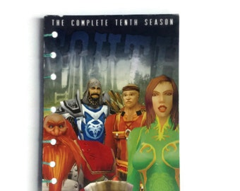 South Park coptic journal handmade reworked DVD box from season 10
