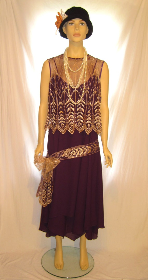 size The Great Gatsby dress costume, size 14 – 16 women's flapper ...