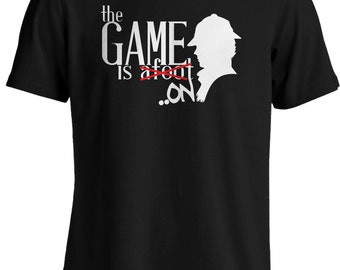 Sherlock - The Game is Afoot/On TV Series T-shirt