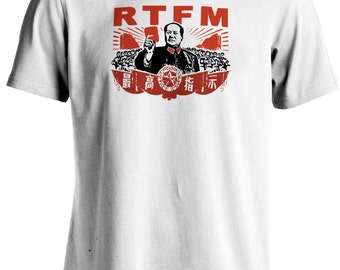 The IT Crowd - RTFM Chairman Mao Roy T-shirt