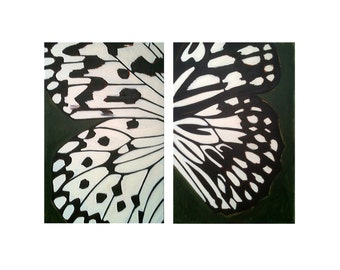 ORIGINAL Painting, LARGE painting, ABSTRACT Painting, Original Art, Huge Painting, Butterfly Painting, Butterfly, Painting, Acrylic Painting
