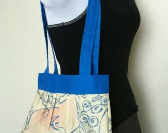 Vintage Comic Book Style Octopus Tote