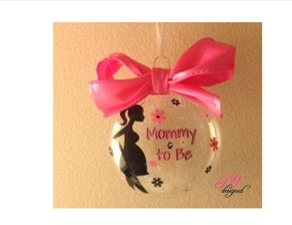 Items similar to Mommy to Be Christmas Ornament for ...