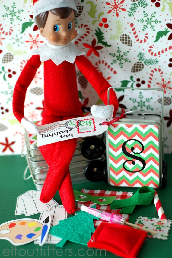 Elf on the Shelf Props - Where to Find Them