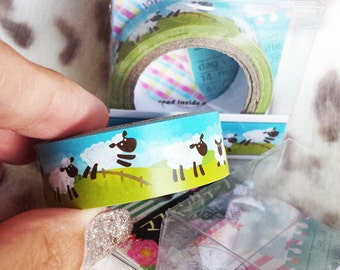 Counting Sheeps - Mini Deco Sticky Tape