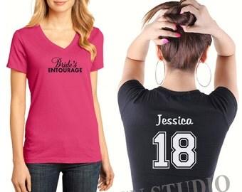 Bachelorette Shirt, Bridal Party Tees, Bridesmaids T-shirts, Girls Weekend T-shirts, School Shirts, Team  T-shirts