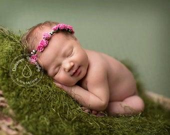 The Dewdrops Newborn Flower Halo