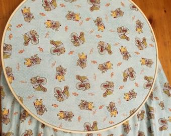 Elephant Crib Sheet - Circus Crib Sheet - Bicycle Baby Bedding - Pennyfarthing Baby - Elephant Baby Bedding - Circus Baby Theme