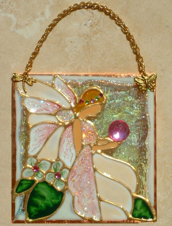 ivory fairy suncatcher