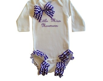 Personalized Baby Girl Onesie, Create Your Own