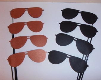 Aviator Glasses photo booth props - 12