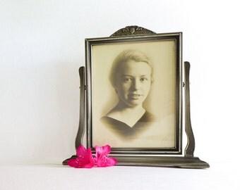 Vintage frame antique swing frame t ilt frame standing dresser frame
