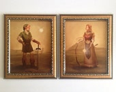 """8""""x10"""" Link and Zelda prints"""