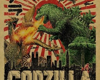 Godzilla Etsy