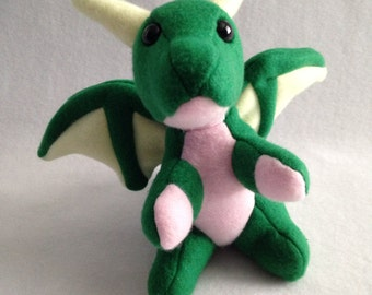 DISCOUNTED: Easter Dragon Hatchling - 3 Colors & Embroidered!