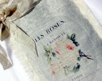 French Inspired Roses Lavender Sachet