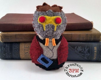 Star Lord / Peter Quill plushie