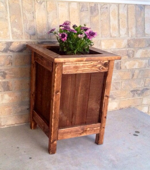 Wood Planter Box - Planter - Wood Planter - Planter Box - Flower Box - Wood Planter Box