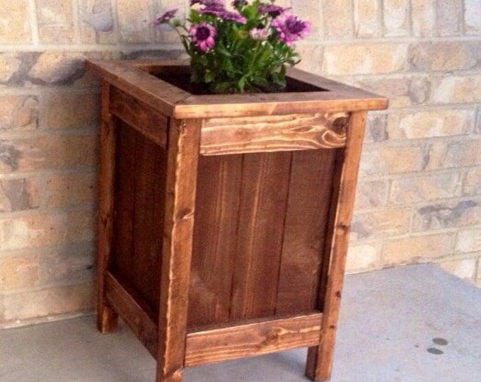 Planter Box - Planter - Wood Planter - Wood Planter Box - Flower Box - Wood Planter Box